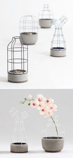 what a cool, contemporary vase by seung yong song
