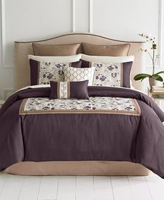 Whitney 8 Piece Queen Comforter Set