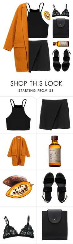 """#926"" by maartinavg ❤ liked on Polyvore featuring Boohoo, Monki, Aesop and ASOS"