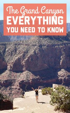 Most visitors will experience the Grand Canyon via the South Rim or the North Rim. Not sure where to start? Here's everything you need to know for visiting the Grand Canyon! / A Globe Well Travelled