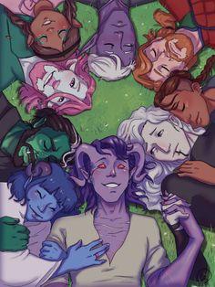 Critical Role Fan Art, Traditional Art, Dungeons And Dragons, Art Blog, Nerd, Joker, My Arts, Anime, Fictional Characters