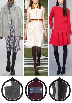 12 Patterned Tights That Will Really Amp Up Your Outfit - For Weekend Errands  - from InStyle.com
