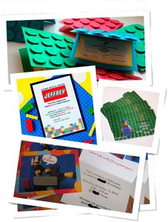 Fiesta de Cumpleaños Lego