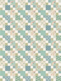 What to Make With Tilda Spring Lake | Free Quilt Pattern.....Thanks so xox ☆ ★ https://uk.pinterest.com/peacefuldoves/