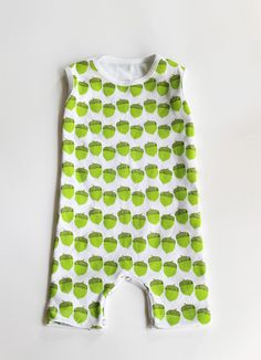 The Cozy Romper // Moss Acorns  // AW13 Collection