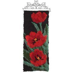 Craftways® Tulip I Banner Latch Hook Kit