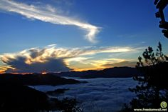 Kiltepan View Point, Sagada, Mountain Province, Philippines