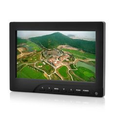Aero - 7 Inch FPV Monitor For RC Models (Sun Shield, 800x480, Anti Video Black Out)