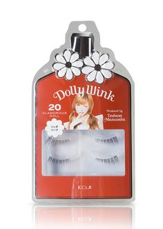 Koji Dolly Wink Eyelash 20 Glamorous Doll by Dolly Wink. Each kit contains 2…