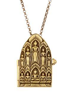 Dream Mullick Temple Door Locket Pendant Necklace on HauteLook