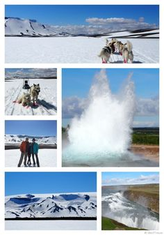 What to do in Iceland -- a five day sample itinerary including dog sledding