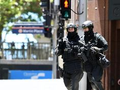 Sydney HRT Operators responding to the pre-Christmas siege Sydney Cafe, Police, Private Security, Personal Defense, Men In Uniform, Special Forces, Air Force, Army, Military