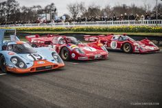 Hearts raced and ears bled at the 74th Goodwood Members' Meeting   Classic Driver Magazine