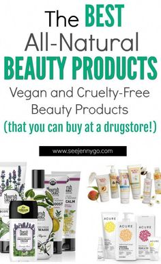 Looking for some NATURAL beauty products that won't​ cost you an arm and a leg? Find out the best all natural, vegan, and cruelty-free beauty products you can find at a drugstore! #beauty #allnaturalbeauty #veganbeauty #cruelityfreebeauty #drugstorebeauty #vegan #crueltyfree #drugstorebeautyprodcuts #skincare #BeautyHacksForTeens Skin Care Regimen, Skin Care Tips, Anti Aging, Beauty Hacks For Teens, Image Skincare, Vegan Beauty, Healthy Beauty, Beauty Routines, Skincare Routine