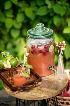 Bohemian Picnic Mixed Drinks