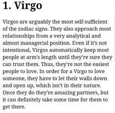 I wish it was easier but its not! Virgo And Pisces Compatibility, Virgo And Sagittarius, Virgo Traits, Virgo Sign, Zodiac Signs Virgo, Virgo Horoscope, Zodiac Sign Facts, Horoscopes, Words Quotes