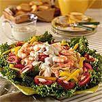 Shrimp Pasta Salad with Green Goddess Dressing Recipe | MyRecipes.com