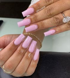 Acrylic Nails Coffin Pink, Short Square Acrylic Nails, Acrylic Toes, Drip Nails, Gel Nails, Soft Pink Nails, Cute Acrylic Nail Designs, Swag Nails, Pretty Nails