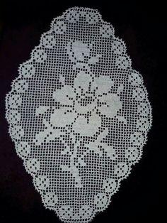 Crochet Placemats, Crochet Table Runner, Crochet Doilies, Baby Knitting, Crochet Baby, Knit Crochet, Thread Crochet, Filet Crochet, Crochet Carpet