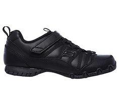 Skechers Kids' Bikers II Grammar Glorious Sneaker Pre/Grade School Shoes (Black)