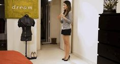 Wendy from Wendy's Lookbook suggests this heel-elevation test to see if a shoe is right for you.