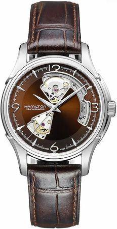ba09984e8eed H32565595 - Authorized Hamilton watch dealer - Mens Hamilton Jazzmaster  Open Heart
