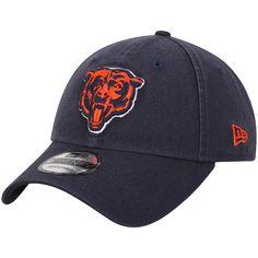 e74060d6e35bc8 Men's Chicago Bears New Era Navy Core Classic Secondary Logo 9TWENTY  Adjustable Hat, Your