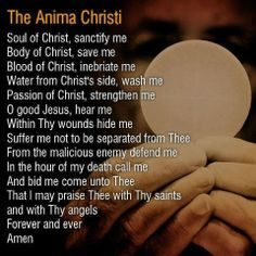 Catholic Communion Prayer