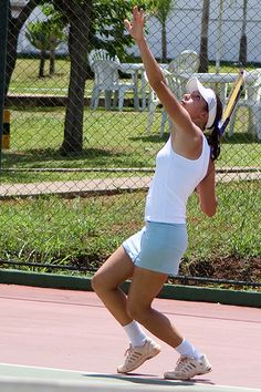 How to Improve Your Tennis Game-  The Serve for females and males.