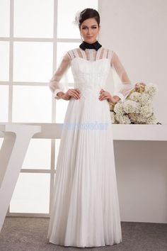 Wholesale Bridesmaid Dress - Buy Modern White Chiffon Long Bridesmaid Dress Sexy Hollow Floor Length Handmade Flower with Lace- Up Dresses, $104.72 | DHgate.com