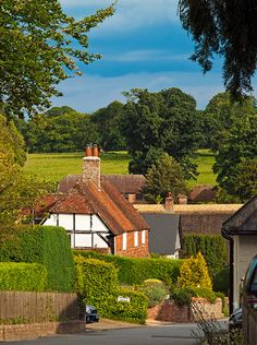 The Village of Upton Grey in Hampshire - there is a beautiful Gertrude Jekyll garden in this lovely hamlet. England Ireland, England And Scotland, London England, Cool Places To Visit, Places To Travel, Places To Go, Hampshire England, English Village, English Countryside