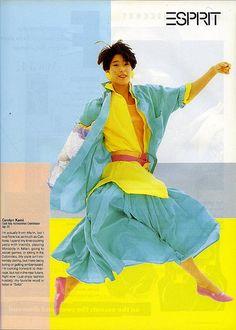 Esprit Ads 80s