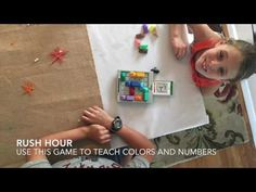 Use this fun game to teach directions and colors in a second language!  #homeschooling #langchat #mandarinforkids