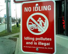 Easy Ways to Save Gas/Petrol & Money-Idle cars are the devil's playthings-An idling car wastes gas/petrol, shortens the vehicle's lifespan and pollutes the environment for no reason.