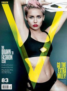 Miley Cyrus strips down, talks Liam Hemsworth in V magazine!