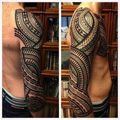 Stunning Tribal Tattoos By Jeroen Franken