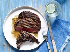 For steak that's crispy on the outside and juicy on the inside, try Bobby Flay's Perfectly Grilled Steak recipe.