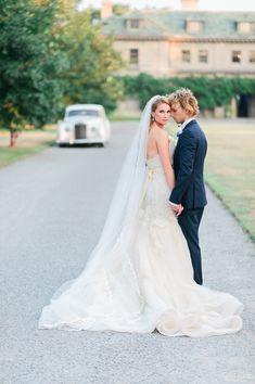 elegant classic eolia harkness waterford ct wedding photos ruffles rolls royce classic white car summer celebration hubert and alka weddings