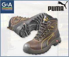 402fd2941aee Puma Sierra Nervada Mid Safety Trainer Boot Trainer Boots