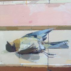 Mark DunFord - Robin Interruption, UM bird( detail) Painting Still Life, Art School, Robin, Art Ideas, Sketch, Birds, Paintings, Artists, Fine Art
