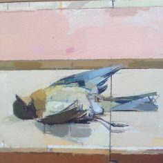 Mark DunFord - Robin Interruption, UM bird( detail)