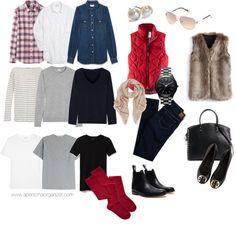 Day-by-day fall-winter capsule Travel Wardrobe, Capsule Wardrobe, Wardrobe Ideas, Minimalist Wardrobe, Closet Organization, Wardrobes, Yves Saint Laurent, Ideias Fashion, Fall Winter