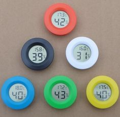Mini digital LCD temperature controller thermostat temperature gauge Humidity Meter