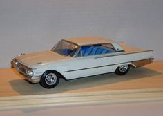 1961 Galaxie Plastic Model Cars, Tin Toys, Kit Cars, Model Kits, Model Building, Wood Toys, Scale Models, Diecast, Slot
