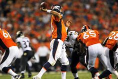 September 5, 2013 -- Peyton Manning ties NFL TD pass record in Broncos romp over Ravens - CSMonitor.com