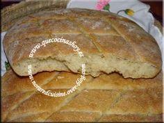 Cocina con Nora (Cocina Marroquí).. Pan fresco rápido ( masa que se deja ya fermentada en el frigo)