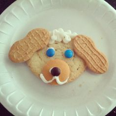 Toddler Approved Blog... a cute dog cookie!