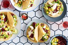 Summer Fish Tacos with Mango and Cucumber Salsa Summer means juicy, ripe mangoes, but don't save them for dessert. They're just as delicious in a salsa to complement garlic and lime-marinated fish.
