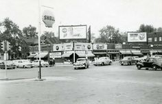 Springfield, Illinois. 5th and Southgrand, 1950's. Courtesy of Springfield Rewind and Sangamon Valley Archives.