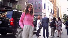 Courtin-Clarins Street Style - On the Street at New York Fashion Week